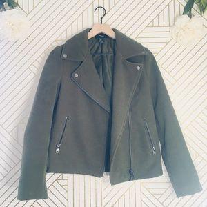 Forever 21 | Green Pea Coat